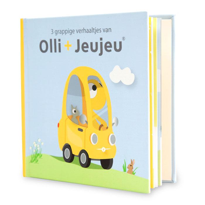 Olli en Jeujeu - Prentenboekje