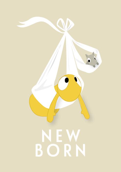 Poster 'new born'