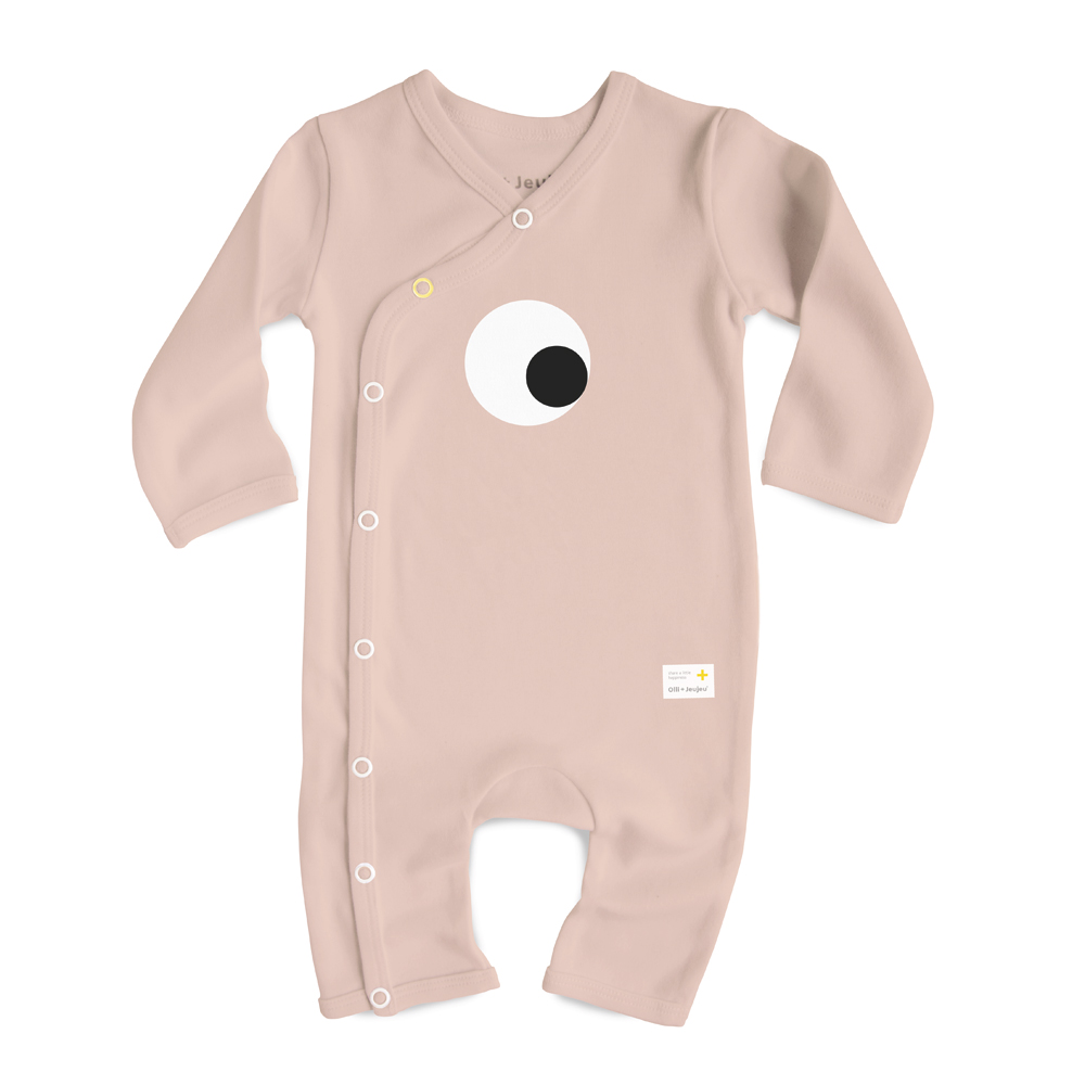 Jumpsuit Olli + Jeujeu - eye - peach