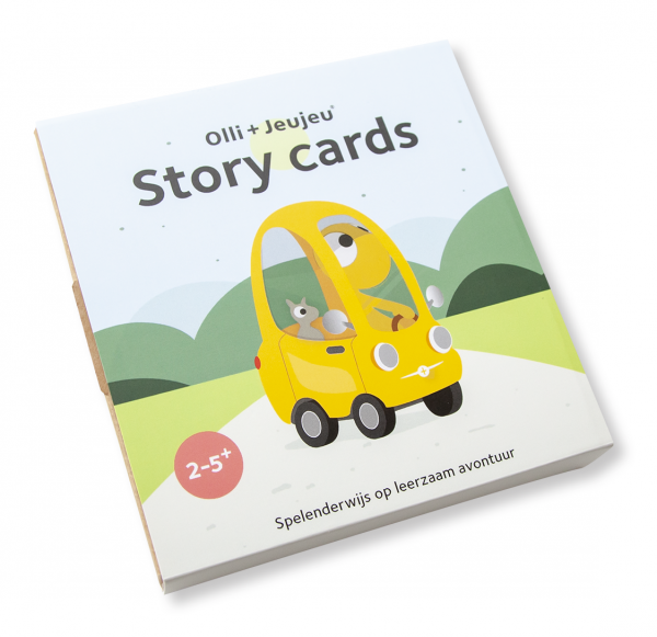 Olli + Jeujeu story cards cover