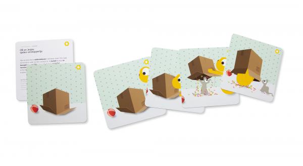 Olli + Jeujeu story cards
